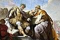 L'imperatore Giustiniamo mentre detta le Pandette di Giovanni Domenico Ferretti, 1730-1740 dettaglio 2.jpg