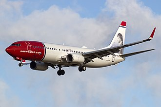 Norwegian Air Shuttle - Norwegian Boeing 737-800