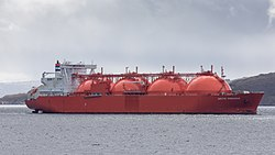 LNG Tanker ARCTIC PRINCESS vor Hammerfest (N) - Juni 2015.jpg