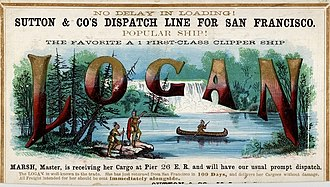 Logan (Iroquois leader) - Clipper ship Logan