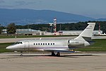 LX-MBE Dassault Falcon 2000 F2TH - Saint James Luxenbourg (21619563833).jpg
