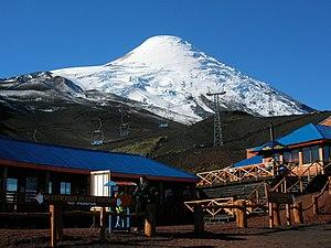 Osorno (volcano) - Image: La Burbuja Volcan Osorno