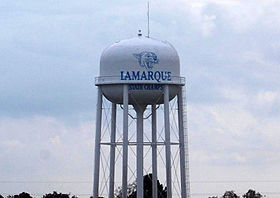 La Marque, Texas water tower.JPG