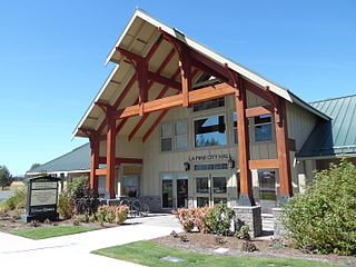 La Pine, Oregon City in Oregon, United States