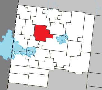 La Sarre - Image: La Sarre Quebec location diagram