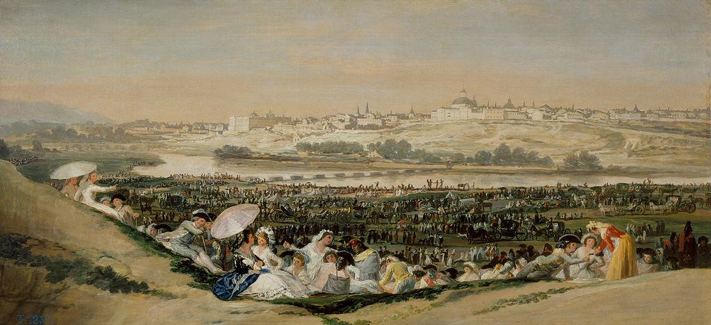 La pradera de San Isidro de Goya