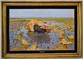 La sega de l'arròs a l'albufera de València, Antoni Fillol Granell, Museu de Belles Arts de València.JPG