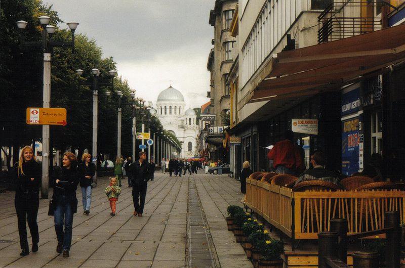 Attēls:Laisves Aleja in Kaunas.jpg