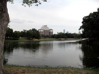 Oak Cliff district in Dallas, Texas, USA