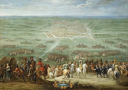 Lambert de Hondt (II): The Surrender of Utrecht on 30 June 1672 to the French king Louis XIV, 1672, Centraal Museum Utrecht Lambert de Hondt (II) - The Surrender of Utrecht.jpg