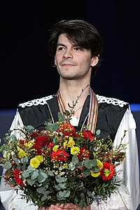 Lambiel at the 2010 European Championships.jpg