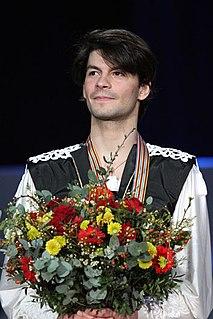 Stéphane Lambiel Swiss former competitive figure skater (born 1985)