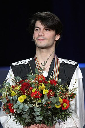 Stéphane Lambiel - Lambiel at the 2010 European Championships