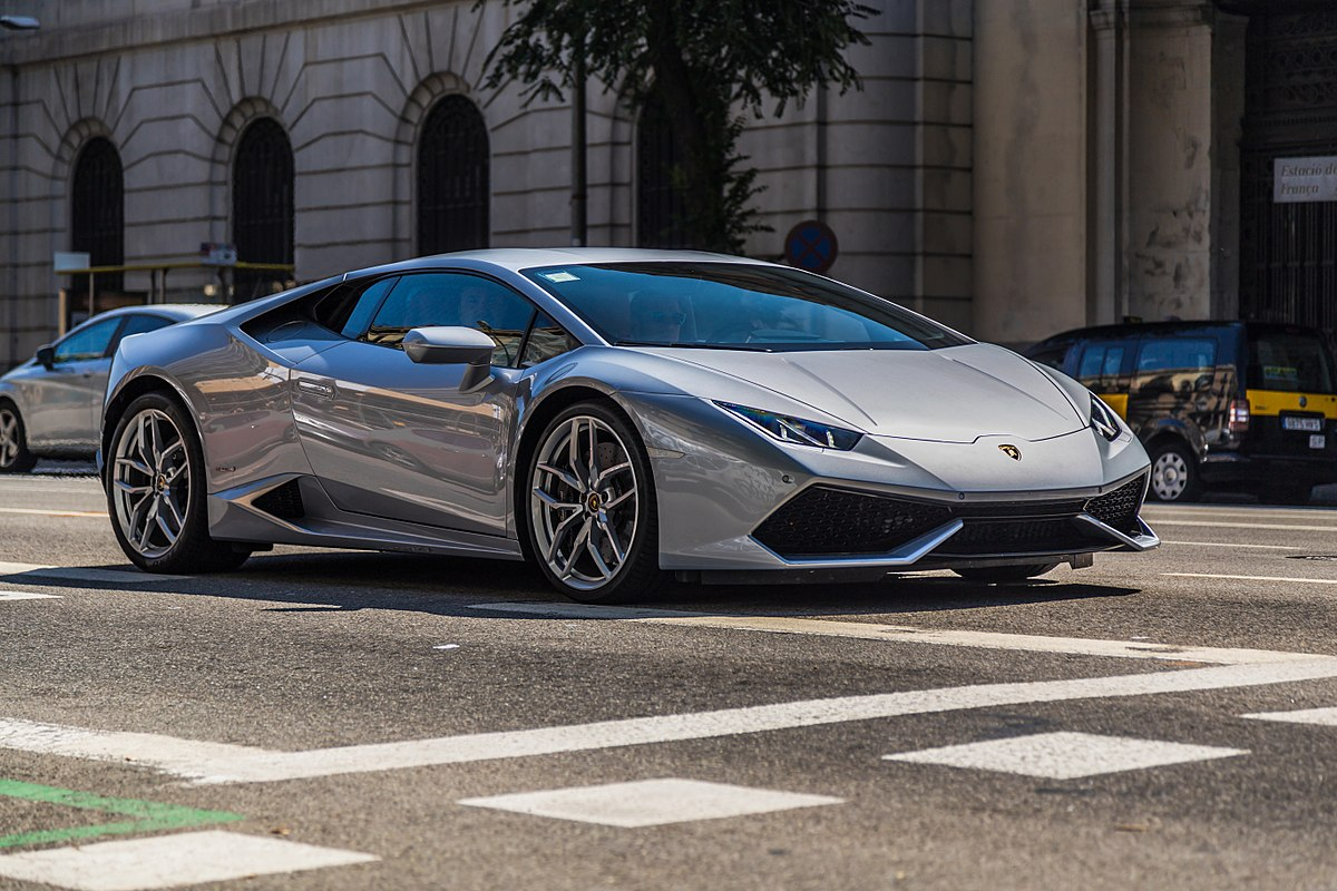 Lamborghini huracan height