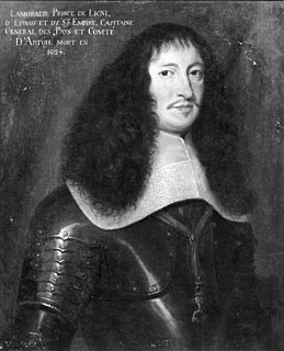 Lamoral, 1st Prince of Ligne Count of Ligne