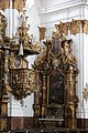 Landsberg am Lech, Heilig Kreuz Kirche, pulpit 001.JPG