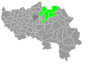 Pays de Herve - The Pays de Herve in the Province of Liège.