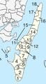 Langeland Municipality Parishes.png