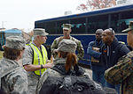 Langley Transit Center welcomes first 90 personnel for controlled monitoring period 141113-F-DM526-063.jpg