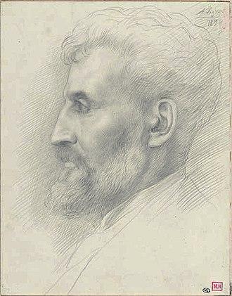 Édouard Lantéri - Édouard Lantéri by Alphonse Legros