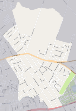 Street map of Las Canteras