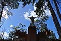 Las Flores - Castillo Pittamiglio Estatua Cristo.JPG