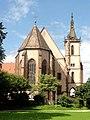 Lautenbach, Wallfahrtskirche Mariä Königin, Ansicht von Nordosten 2.jpg