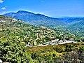 Le Bar-sur-Loup. . Panorama depuis la route de Gourdon.jpg