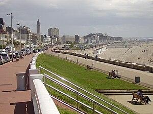 Strand und Seebad von Le Havre