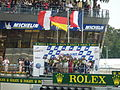 Le Mans 2011 Podium.jpg