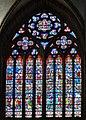 Le vitrail principal du transept nord de la cathédrale Saint-Samson (maîtresse vitre) - Dol-de-Bretagne.jpg