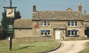 Leafield - The Fox public house
