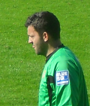 Lee Harper - Harper playing for Kettering Town in 2009