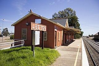 Leeton railway station