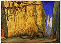 "Leon Bakst - Preliminary study for the décor of the ballet ""Le Dieu bleu"" (The Blue God) - Google Art Project.jpg"