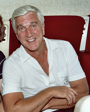 Photo of actor Leslie Nielsen