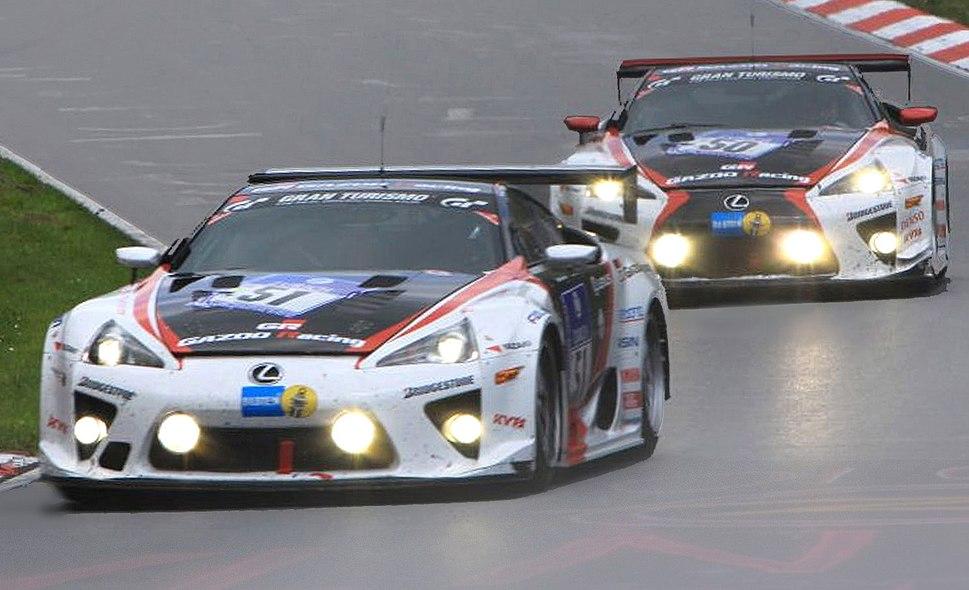 Lexus LFAs 24h-Rennen Nürburgring 2010