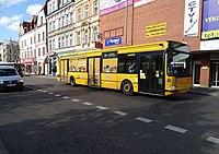 Liberec, Moskevská, autobus 380, linka 600.jpg