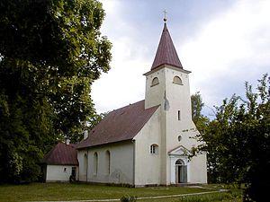 Lielvārde - Lielvārde Lutheran church