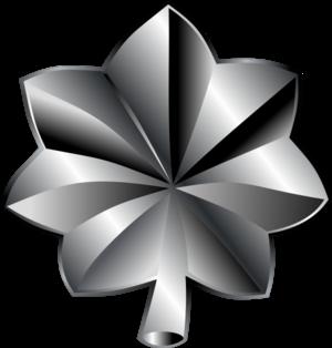Gordon Browning - Image: Lieutenant Colonel insignia