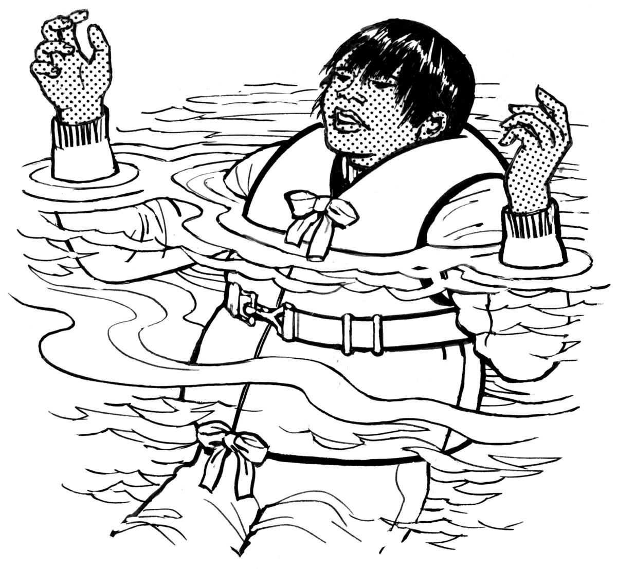 Kleurplaten Reddingsboot Redningsvest Wikipedia