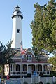 Lighthouse and museum, St. Simons, GA, USA.JPG