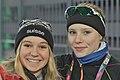 Lillehammer 2016 - Speed skating Ladies' 500m - Jasmin Güntert and Lea Scholz.jpg