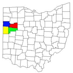 Lima Ohio metropolitan area