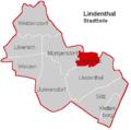 Lindenthal Stadtteil Braunsfeld.PNG