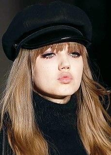 Lindsey Wixson American fashion model