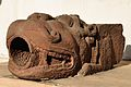 Lion Faced Gargoyle - Circa 11th Century CE - Bhumara - Madhya Pradesh - Indian Museum - Kolkata 2013-04-10 7751.JPG