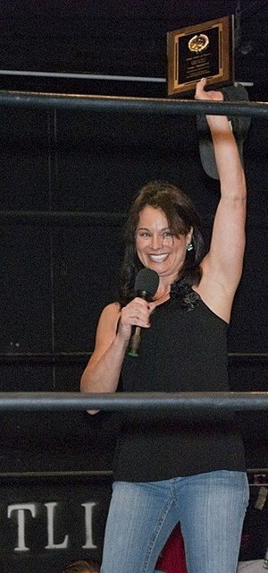 Ivory (wrestler) - Ivory during her induction into the WSU Hall of Fame in March 2011