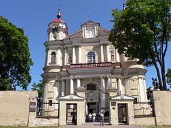 Lithuania Vilnius St.Peter+St.Paul church.jpg