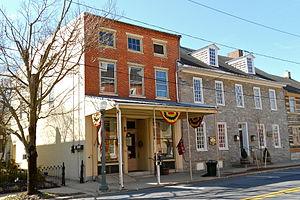 Lititz Moravian Historic District - Image: Lititz Congregational Store 1